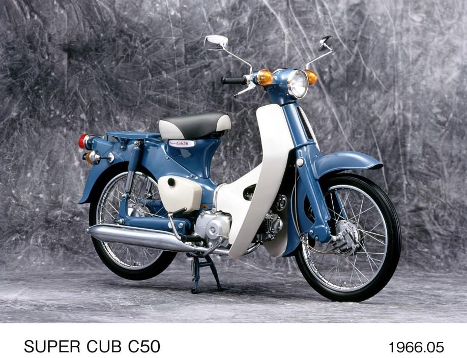 Honda Celebrates 100 Million Unit Global Production Milestone for Super Cub Series Motorcycles