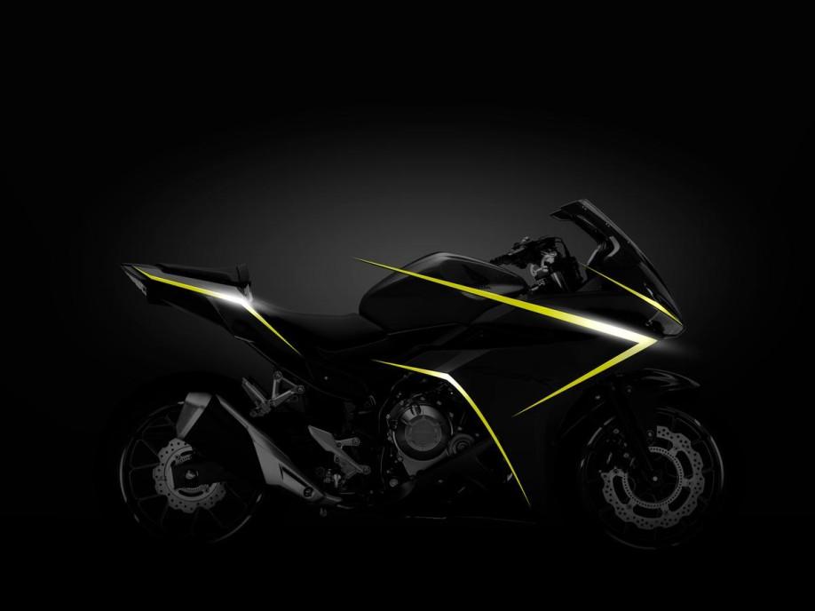CBR500R Side