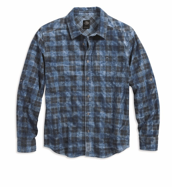 Men's Plaid Cloud Wash Plaid Shirt