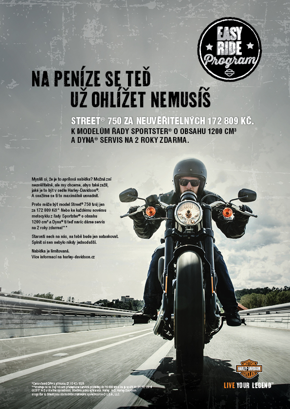 Harley-Davidson_program Easy Ride