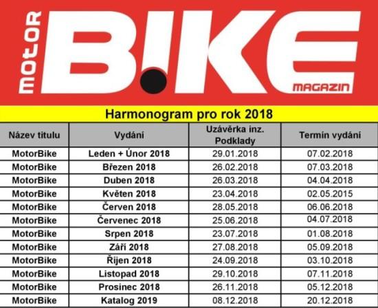 Harmonogram MotorBike 2018