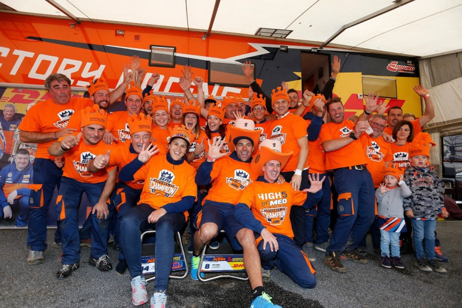 KTM Enduro Factory Racing Team_France 2015