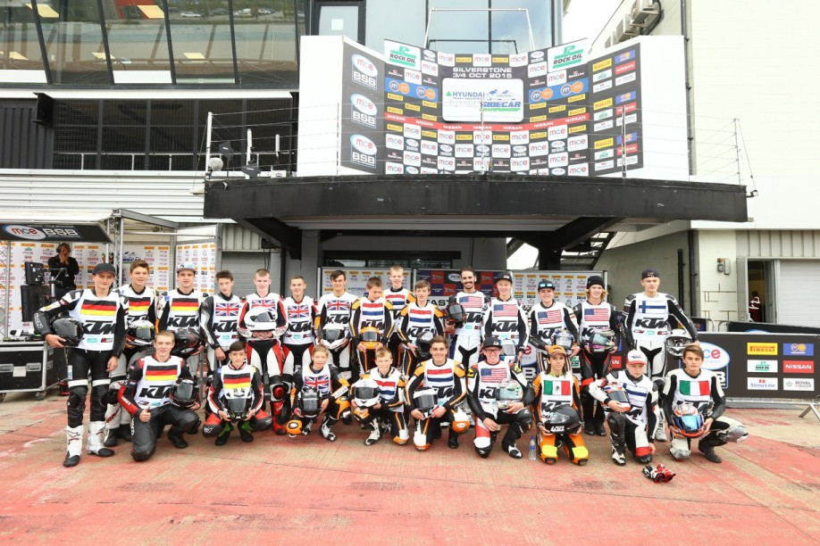 KTM RC CUP World Final riders_Silverstone 2015