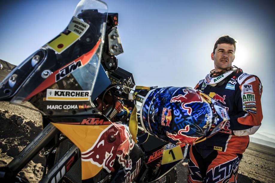 Marc Coma_KTM 450 RALLY_Dakar 2015