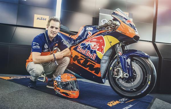 Mika Kallio with the KTM RC16