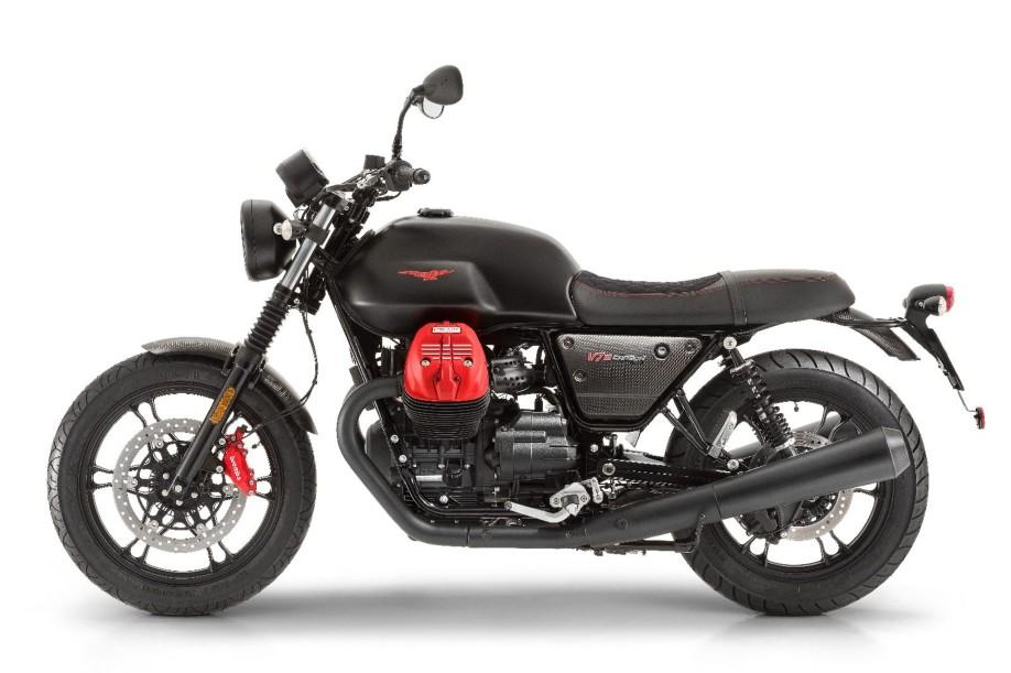 Moto Guzzi V7 III Carbon lo