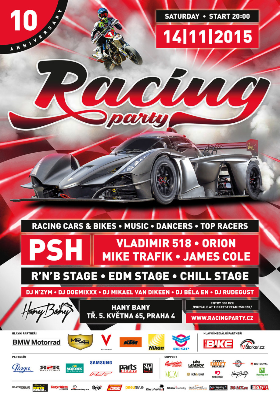 RACING PARTY - A4 V 03