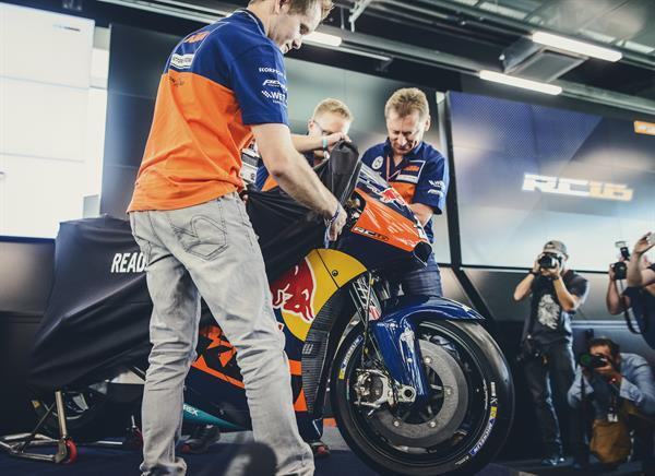 Unveil the KTM RC16