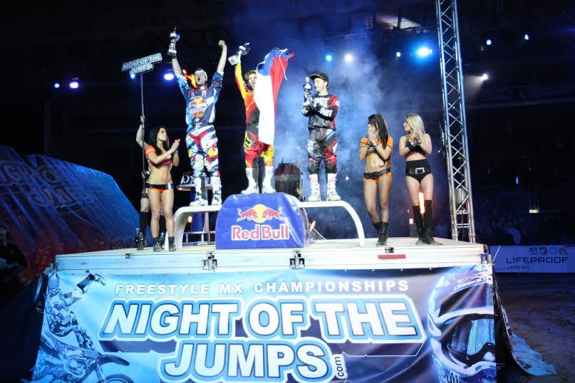 Petr Pilat, Libor Podmol, Brice Izzo - NIGHT of the JUMPs Linz 2014