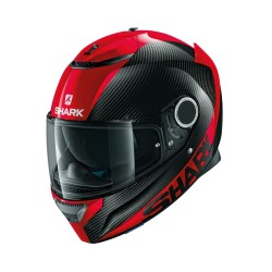 casque-shark-spartan-carbon-skin-drr-noir-rouge