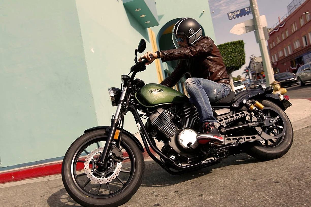 Test yamaha xv950 motorbike for K oba mobiliario elche