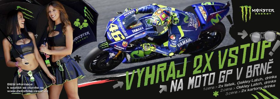 monster soutez moto gp
