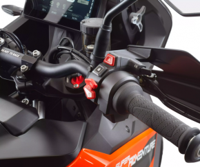 KTM 1290 SUPER ADVENTURE S, Detail ovladac